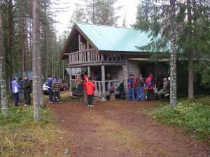 Maja on sekä jäsenten omassa käytössä että vuokrakäytössä
